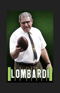 Lombardi, Circle In The Square Theatre, NYC Show Poster