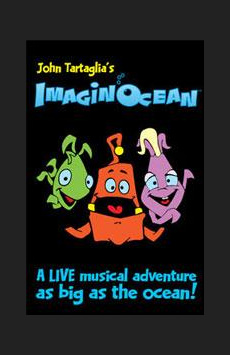 Imaginocean, New World Stages - Stage Five, NYC Show Poster