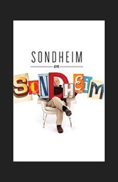 Sondheim on Sondheim, Studio 54, NYC Show Poster