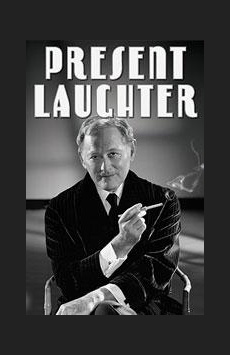 Present Laughter, American Airlines Theatre, NYC Show Poster