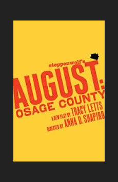 August: Osage County,, NYC Show Poster