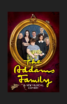 The Addams Family, Lunt-Fontanne Theatre, NYC Show Poster