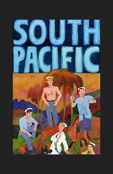 South Pacific, Vivian Beaumont Theater, NYC Show Poster