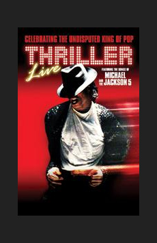 Thriller - Live,, NYC Show Poster