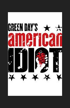 American Idiot, St. James Theatre, NYC Show Poster