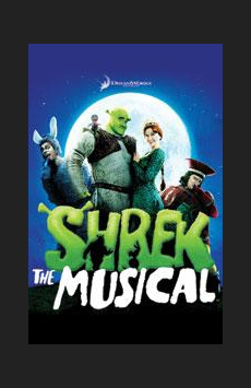 Shrek the Musical, Broadway Theatre, NYC Show Poster