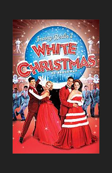 White Christmas, Marquis Theatre, NYC Show Poster
