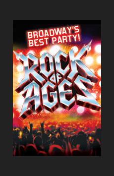 Rock of Ages, The Helen Hayes Theater, NYC Show Poster