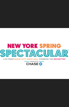 New York Spring Spectacular, Radio City Music Hall, NYC Show Poster