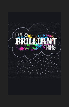 Every Brilliant Thing, Barrow Street Theatre, NYC Show Poster