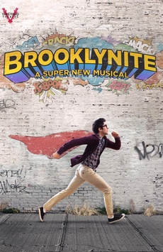 Brooklynite, Vineyard Theatre, NYC Show Poster