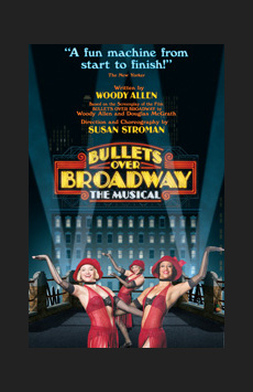 Bullets Over Broadway,, NYC Show Poster