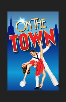 On the Town, Lyric Theatre, NYC Show Poster