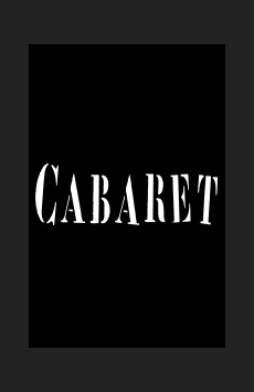 Cabaret,, NYC Show Poster