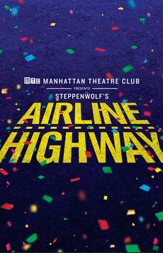 Airline Highway, Samuel J Friedman Theatre, NYC Show Poster