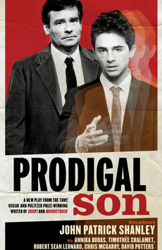 Prodigal Son, Manhattan Theatre Club Stage I, NYC Show Poster