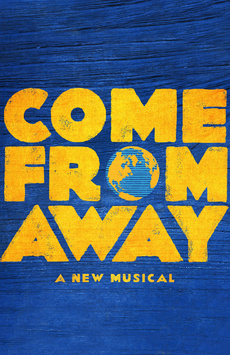 Come From Away, Schoenfeld Theatre, NYC Show Poster