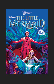Disney's The Little Mermaid,, NYC Show Poster
