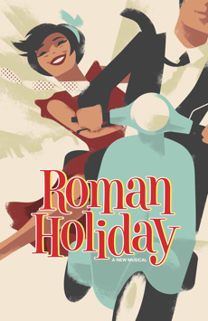 Roman Holiday,, NYC Show Poster