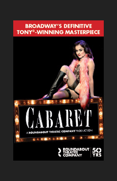 Cabaret,, NYC Show Poster