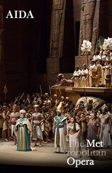 Metropolitan Opera: Aida, The Metropolitan Opera, NYC Show Poster