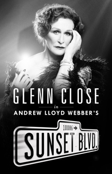 Sunset Boulevard, Palace Theatre, NYC Show Poster