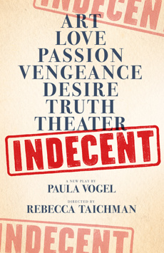 Indecent, Cort Theatre, NYC Show Poster