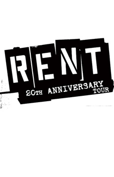 Rent,, NYC Show Poster