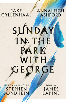 Sunday in the Park With George, Hudson Theatre, NYC Show Poster