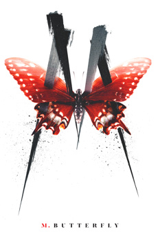 M. Butterfly, Cort Theatre, NYC Show Poster