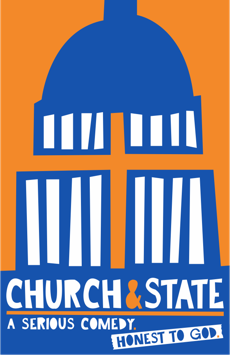 Church & State, New World Stages - Stage Five, NYC Show Poster