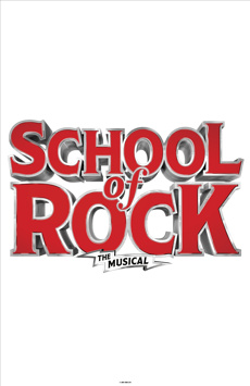 School of Rock - The Musical, Winter Garden Theatre, NYC Show Poster