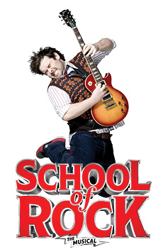 School of Rock: The Musical,, NYC Show Poster