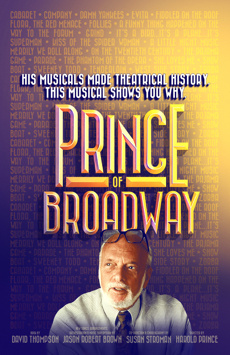 Prince of Broadway, Samuel J Friedman Theatre, NYC Show Poster