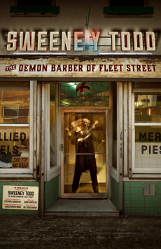 Sweeney Todd: The Demon Barber of Fleet Street, Barrow Street Theatre, NYC Show Poster
