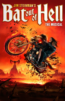 Bat Out of Hell: The Musical, New York City Center, NYC Show Poster