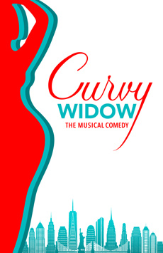 Curvy Widow, Westside Theatre Downstairs, NYC Show Poster