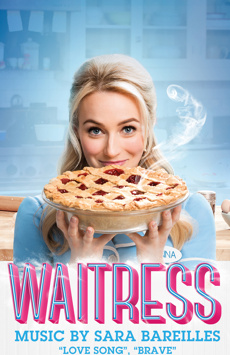 Waitress,, NYC Show Poster
