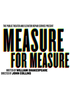 Measure for Measure, LuEsther Hall at Joseph Papp Public Theater, NYC Show Poster