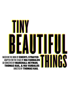 Tiny Beautiful Things, Newman Theater at Joseph Papp Public Theater, NYC Show Poster