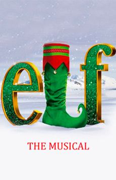 Elf the Musical, Hulu Theater at Madison Square Garden, NYC Show Poster