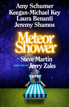 Meteor Shower, Booth Theatre, NYC Show Poster