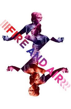 Fire and Air, Classic Stage Company, NYC Show Poster