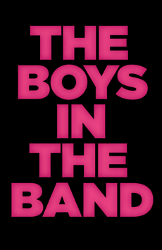 The Boys in the Band, Booth Theatre, NYC Show Poster