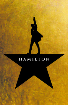 Hamilton, Richard Rodgers Theatre, NYC Show Poster