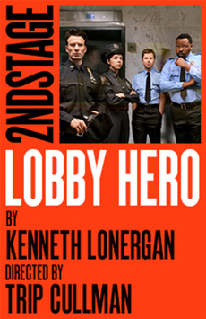 Lobby Hero, The Helen Hayes Theater, NYC Show Poster