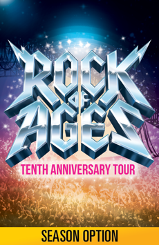 Rock of Ages,, NYC Show Poster