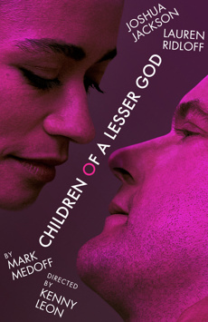 Children of a Lesser God, Studio 54, NYC Show Poster