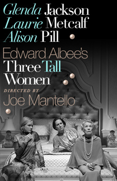 Three Tall Women, John Golden Theatre, NYC Show Poster