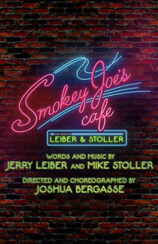 Smokey Joe's Cafe: The Songs of Leiber and Stoller , Stage 42, NYC Show Poster